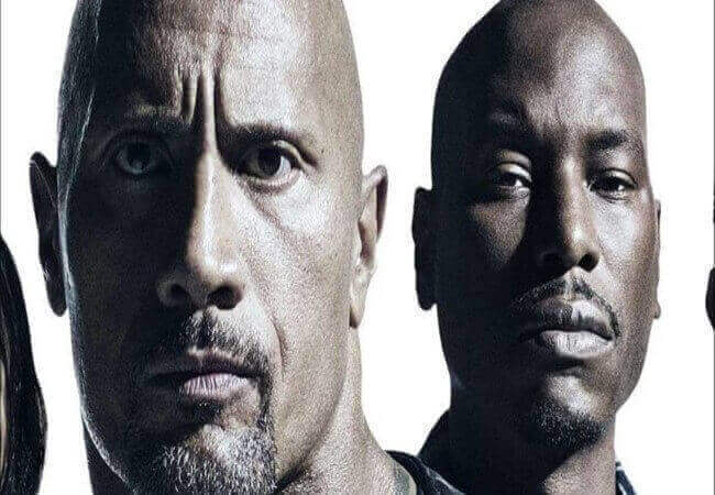 Hobbs and Shaw, Mocks By Tyrese Gibson