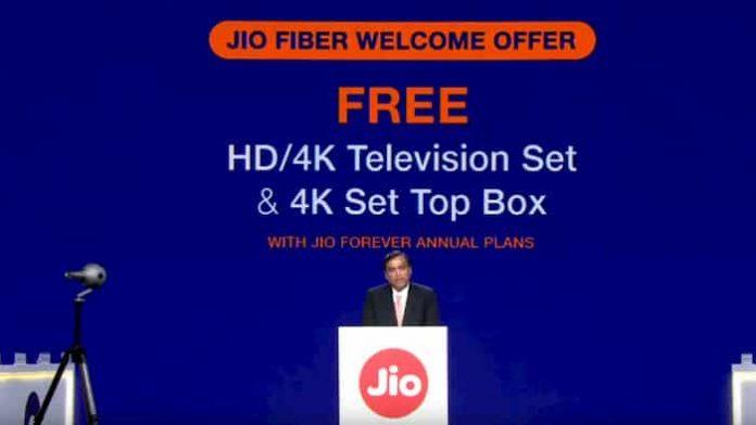 Jio GigaFiber Cheapest Fiber