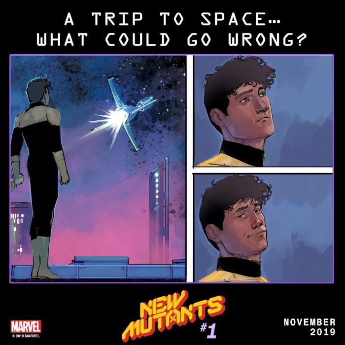 New Mutants # 1 Teaser (November 2019)