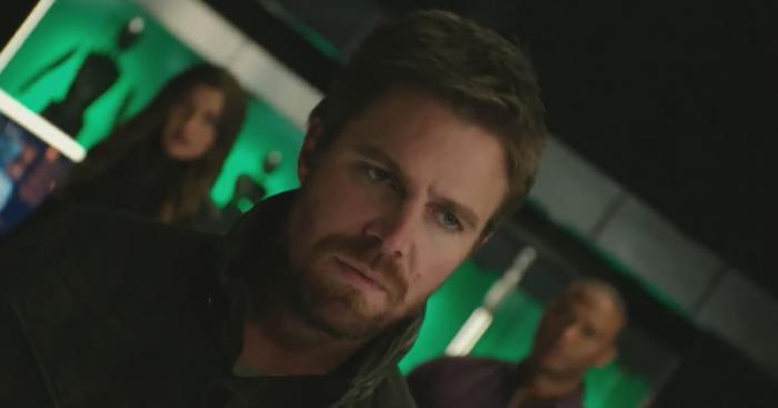 Image of Arrow 8x04: Present Tense