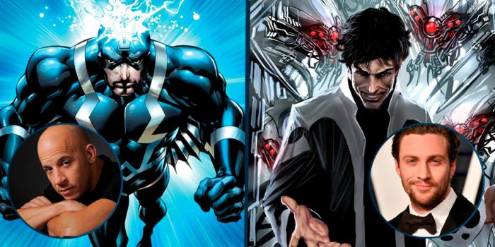 Vin Diesel and Aaron Taylor-Johnson rumored for Black Bolt and Maximus at Ms. Marvel