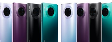 Huawei Mate 30 Pro versus the best high-end: huge battery and design to compensate for the operating system