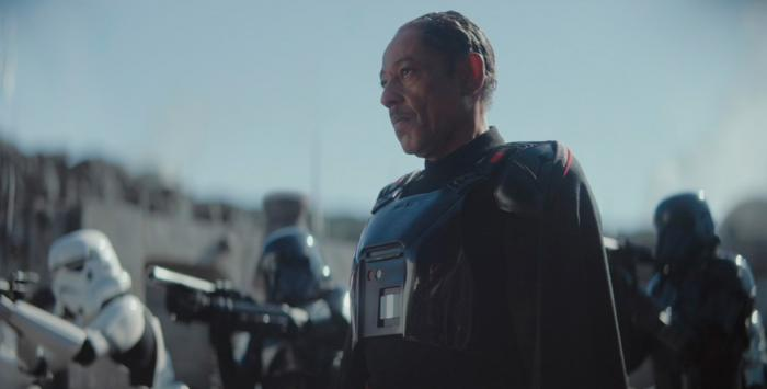 Image of Moff Gideon in The Mandalorian 1x07: The Reckoning