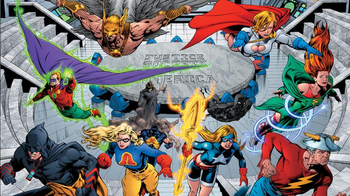 The Justice Society of America in the comics