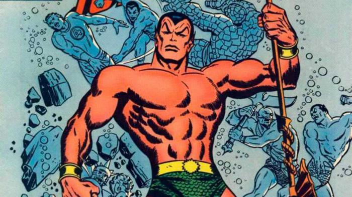 Image of Namor in Marvel Comics