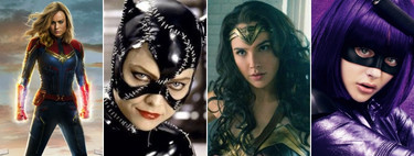 From Supergirl to Captain Marvel: nine vigilantes that mark the path of superheroines in the cinema