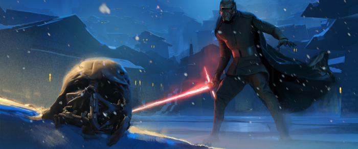 Star Wars Concept Art: The Rise of Skywalker (2019), by Christian Alzmann