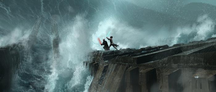 Star Wars Concept Art: The Rise of Skywalker (2019), by Adam Brockbank