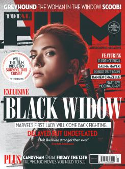 Cover of the Total Film magazine dedicated to Black Widow (2020)