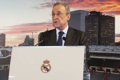The president of Real Madrid, Florentino Pérez (EFE)