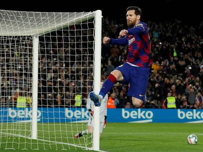 Lionel Messi closed the podium of the best-paid athletes (Reuters / Albert Gea / File Photo)
