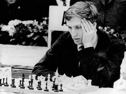 In his puberty, Bobby Fischer shared a team with the mature Whitaker, and they traveled together to play tournaments in different cities. They carried a magnetic board to challenge themselves along the way, although Whitaker almost always won.
