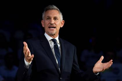 TV presenter and former soccer player Gary Lineker again highlighted Messi and compared him to Michael Jordan