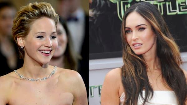 Jennifer Lawrence & Megan Fox
