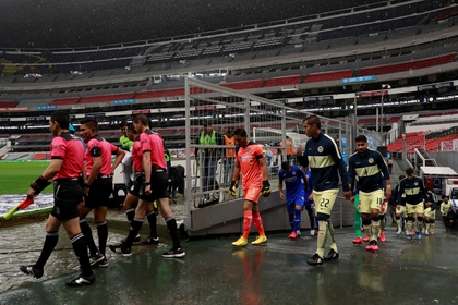 The Liga MX highlighted restrictions on the coexistence of fans with soccer players (Photo: Jorge Núñez / EFE)
