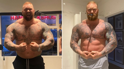 After his weight loss and sporting a more sculpted body, the Mountain registers 188 kilos in the balance