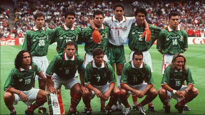 During the 98 World Cup in France, Mexico defeated Belgium and South Korea; tied with the Netherlands and lost in the quarterfinals to Germany (Photo: Special)