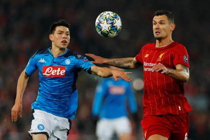Hirving Lozano was the second most expensive signing for Napoli (Photo: Reuters / Phil Noble)