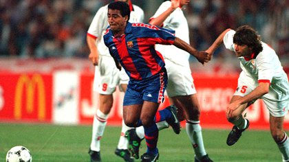 El Chapulín explained why he decided to leave Barcelona after winning the World Cup in 1994