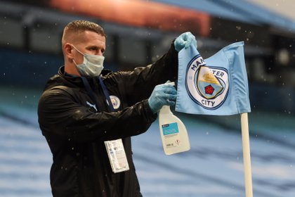 The Premier League resumed amid the COVID-19 pandemic