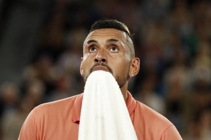 Nick Kyrgios was one of those who criticized Djokovic after the news of coronavirus cases in his tournament (Reuters)
