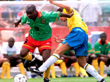 Milla, at 42, played her third World Cup at USA 94. She was left in history when she scored Cameroon's only goal in the 1-6 loss to Russia