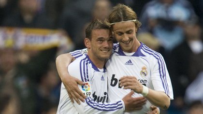 Sneijder confessed that he drank a lot of alcohol during and that Guti was one of his party companions during his time at Real Madrid (Shutterstock)