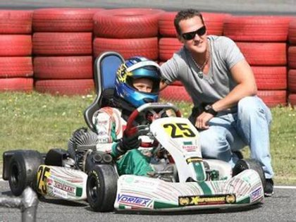 He started racing in karts from a very young age and today he is a Formula 2 driver.