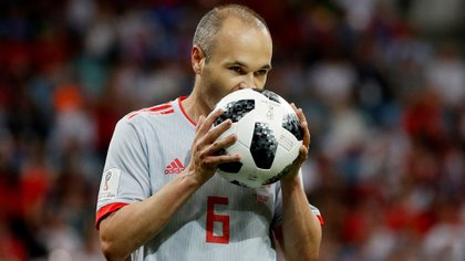 Iniesta, 36, is one of the greatest idols in the history of Barcelona (Reuters)