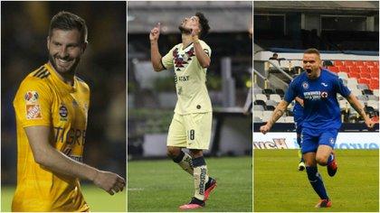 América, Cruz Azul, Pumas and Toluca, as well as Chivas, Tigres, Atlas and Mazatlán will be measured in a small contest (Photo: Collage / Cuartoscuro)
