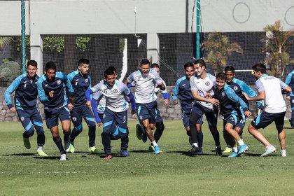 Cruz Azul confirmed the second footballer who tested positive for COVID-19 (Photo: Instagram / @cruzazulfc)