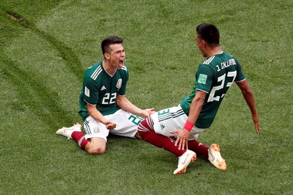 Hirving Lozano scored the only goal between Mexico and Germany at the 2018 World Cup in Russia (Photo: Reuters / Christian Hartmann)