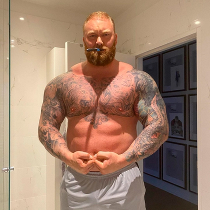 Hafthor Bjornsson lost more than 20 kilos in a month for his fight against Eddie Hall