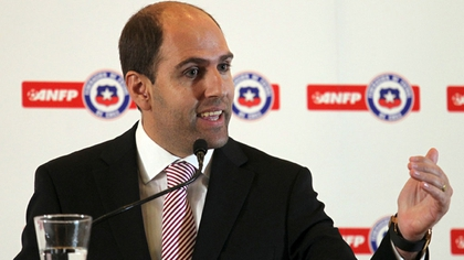 Sergio Jadue was president of the ANFP between 2011 and 2015