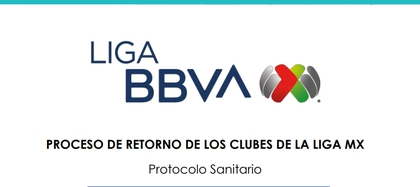 Liga MX presented its protocol for the return to competition on 31 pages (Photo: Liga MX)