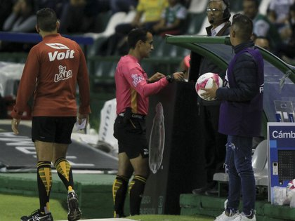 Liga MX referee could have tested positive for COVID-19 (Photo: Gustavo Becerra / Cuartoscuro)
