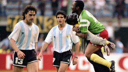 Cameroon's historic triumph in the premiere of the 90th World Cup against Argentina (AP)