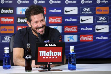 Simeone is ranked 43 for everything accomplished at the helm of Atlético de Madrid EFE / atleticodemadrid.com