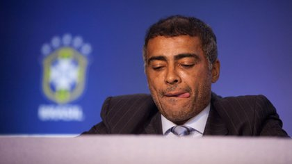 Romario gave an interview and left several striking statements about the world of soccer (AP)