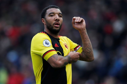 Troy Deeney of Watford, at Old Trafford, Manchester, UK - February 23, 2020 (Reuters)