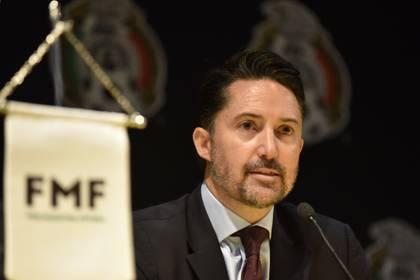 Yon de Luisa, president of the Mexican Soccer Federation (Photo: Cuartoscuro)