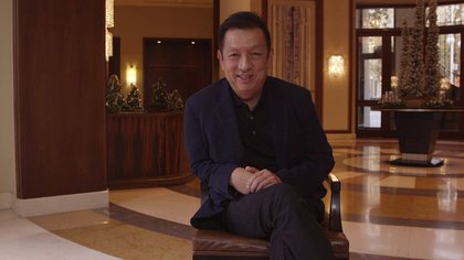 Peter Lim, owner of Valencia (Photo: Valencia CF)