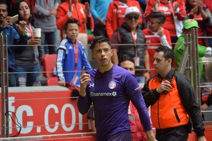 Talavera thanked the Devils' fans for their tireless support (Photo: Artemio Guerra Baz / Cuartoscuro)