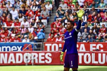 The historic goalkeeper of the Red Devils ends an 11-year cycle at the Mexican club (Photo: Crisanta Espinos / Cuartoscuro)