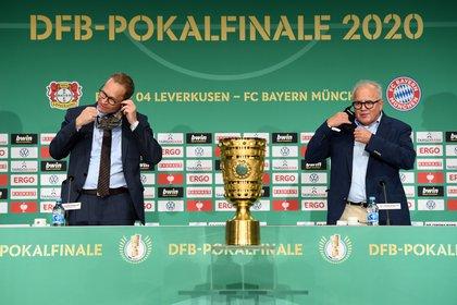 Bayer Leverkusen and Bayern Munich define the 2020 German Cup (REUTERS / Annegret Hilse)