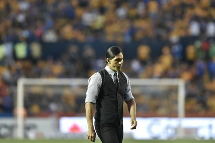 His most important work on the bench was with Pumas UNAM in the Apertura 2016 tournament, where he reached the quarterfinals. (Photo: Miguel Sierra / EFE)