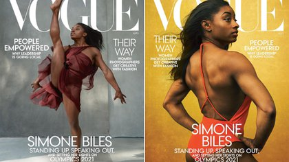 Simone Biles gave an interview for Vogue magazine where she spoke about Larry Nassar's sexual abuse.