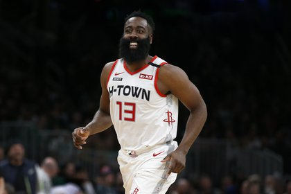 James Harden is the big star of the Houston Rockets and one of the owners of the Houston Dynamo (Credit: Winslow Townson-USA TODAY Sports)