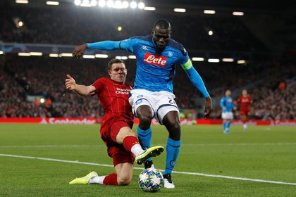 Kalidou Koulibaly is a wall in Napoli (REUTERS / Phil Noble)