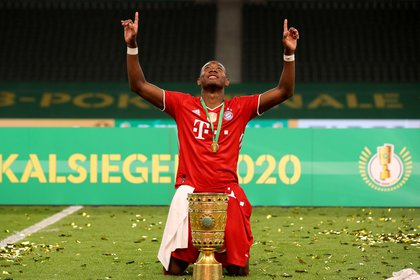 David Alaba is one of the main figures of Bayern Munich (REUTERS)